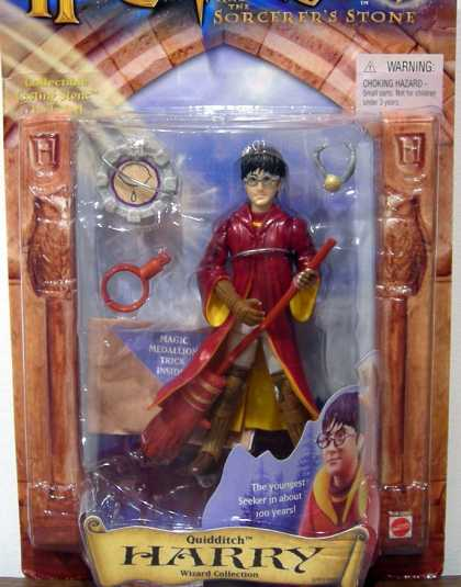 Action Figure Boxes - Harry Potter: Quidditch Harry
