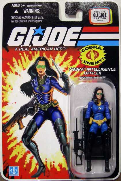 Action Figure Boxes - G.I. Joe: Cobra Intelligence Officer