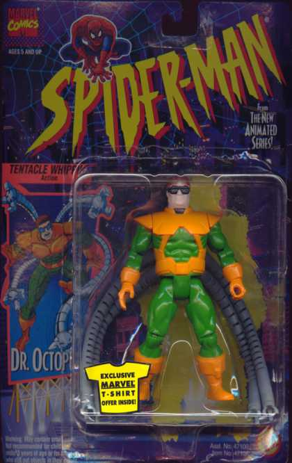 Action Figure Boxes - Spider-Man: Dr. Octopus