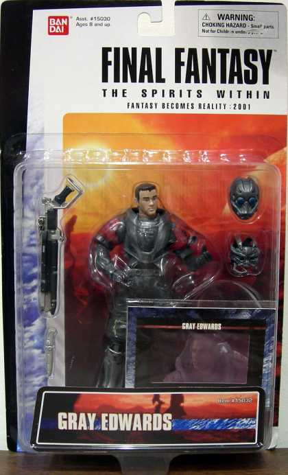 Action Figure Boxes - Final Fantasy: Gray Edwards