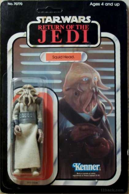 Action Figure Boxes - Star Wars: Squid Head