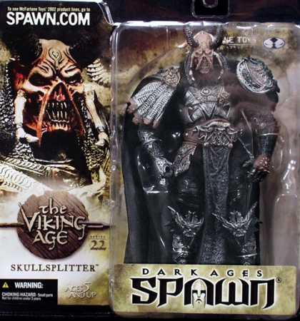 Action Figure Boxes - Dark Ages Spawn Skullsplitter