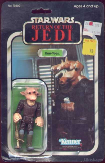 Action Figure Boxes - Star Wars: Ree-Yees