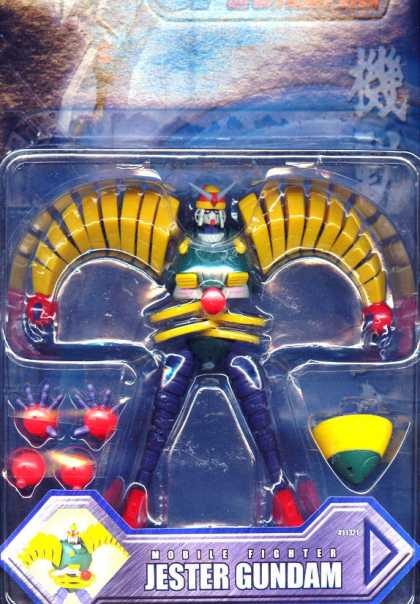 Action Figure Boxes - Mobile Fighter Jester Gundam