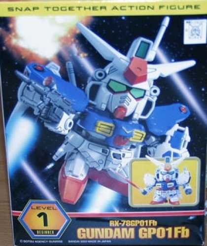 Action Figure Boxes - RX-78GP91Fb Gundam GP01Fb