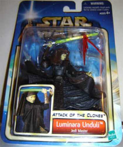 Action Figure Boxes - Star Wars: Luminara Unduli, Jedi Master