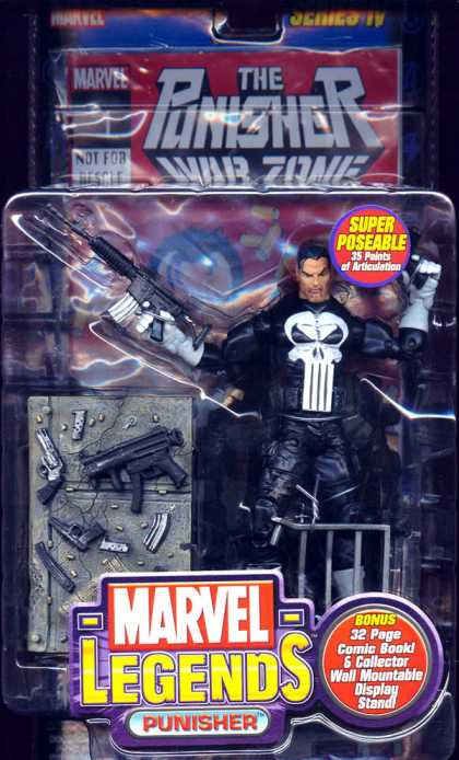 Action Figure Boxes - Punisher War Zone