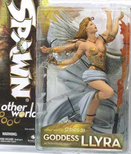 Action Figure Boxes - Spawn: Goddess Llyra