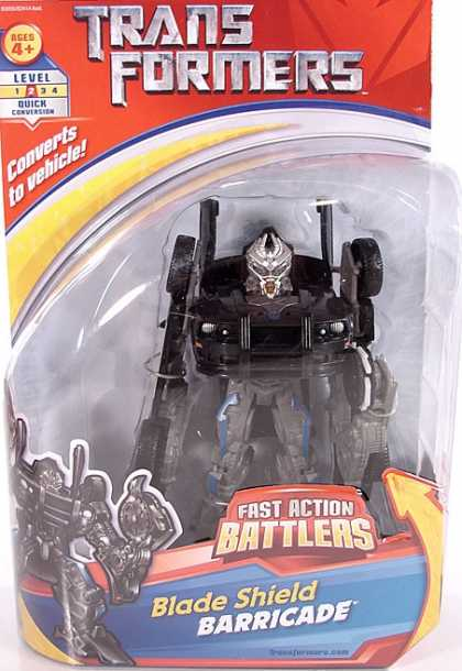 Action Figure Boxes - Transformers Blade Shield Barricade