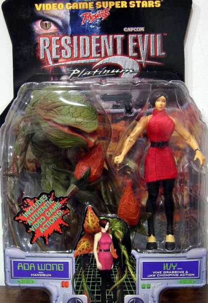 Action Figure Boxes - Resident Evil Ada Wong