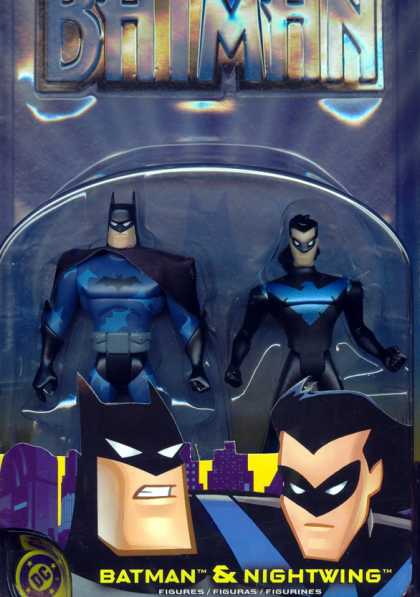 Action Figure Boxes - Batman and Nightwing