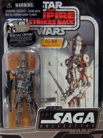 Action Figure Boxes - Star Wars: IG-88