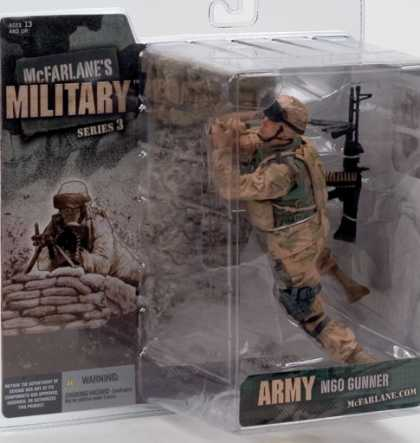 Action Figure Boxes - Army MGO Gunner