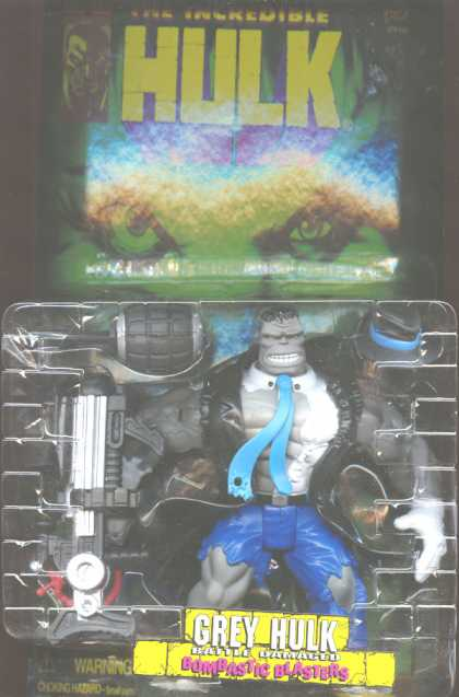 Action Figure Boxes - Grey Hulk