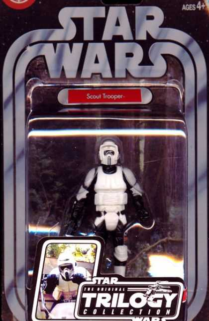 Action Figure Boxes - Star Wars: Scout Trooper