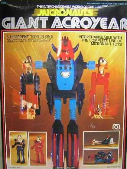 Action Figure Boxes - Giant Acroyear
