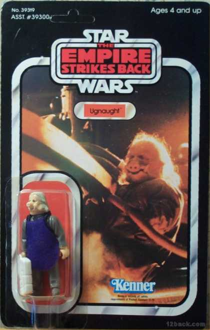 Action Figure Boxes - Star Wars: Ugnaught