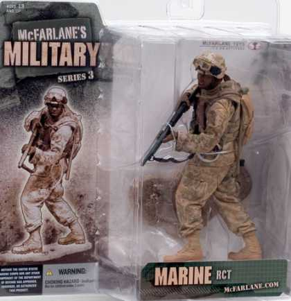 Action Figure Boxes - Marine