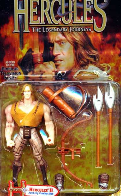 Action Figure Boxes - Hercules
