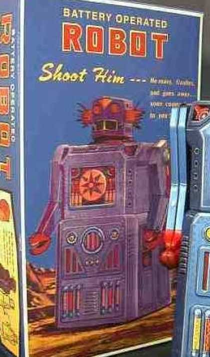 Action Figure Boxes - Robot