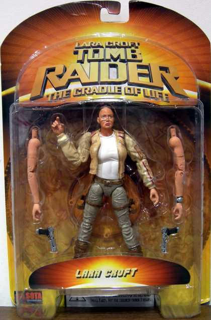 Action Figure Boxes - Tomb Raider: Lara Croft