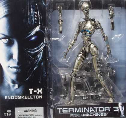 Action Figure Boxes - Terminator 3: T-X Endoskeleton