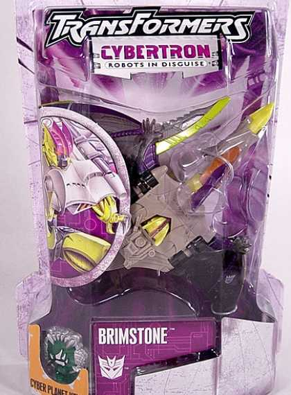 Action Figure Boxes - Transformers: Brimstone