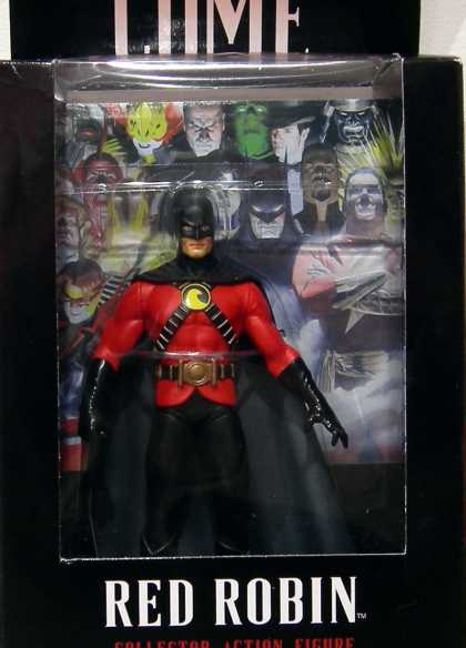 Action Figure Boxes - Kingdom Come Red Robin