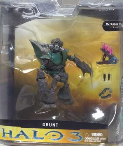Action Figure Boxes - Halo 3: Grunt