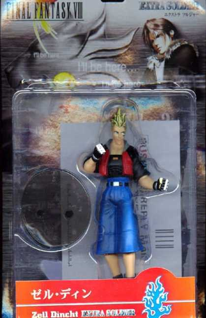 Action Figure Boxes - Final Fantasy VIII: Zell Dincht