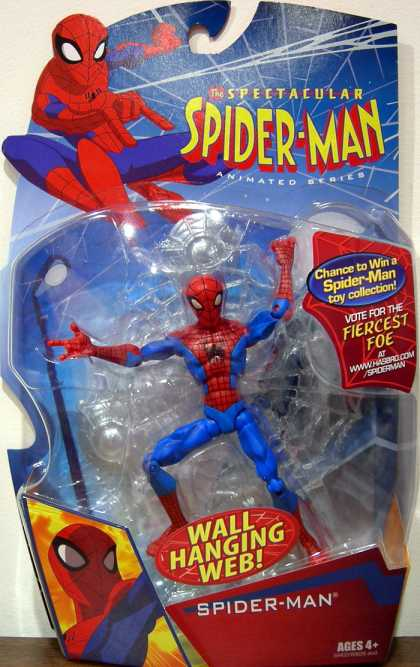 Action Figure Boxes - Spider-Man: Wall Hanging Web