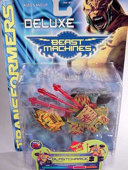 Action Figure Boxes - Transformers Blastcharge