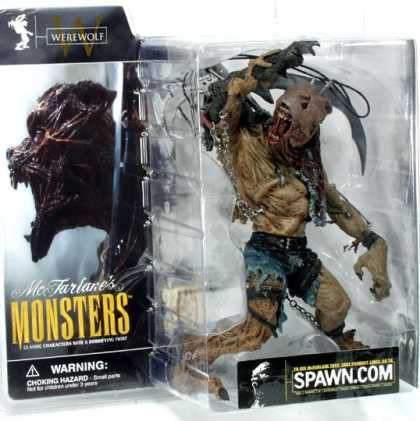 Action Figure Boxes - Monster