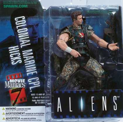 Action Figure Boxes - Aliens: Colonial Marine Cpl. Hicks