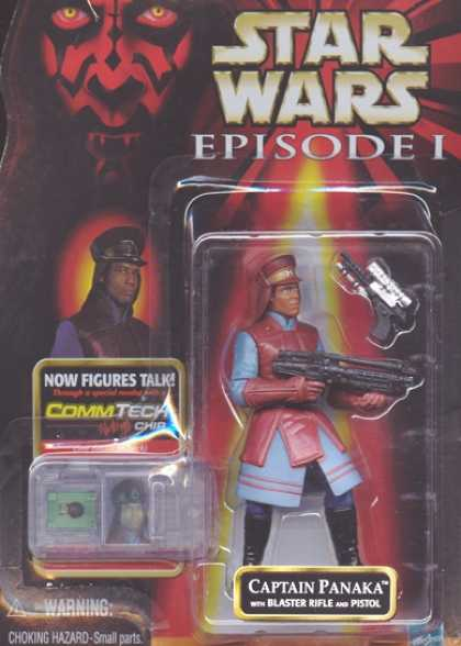 Action Figure Boxes - Star Wars: Captain Panaka