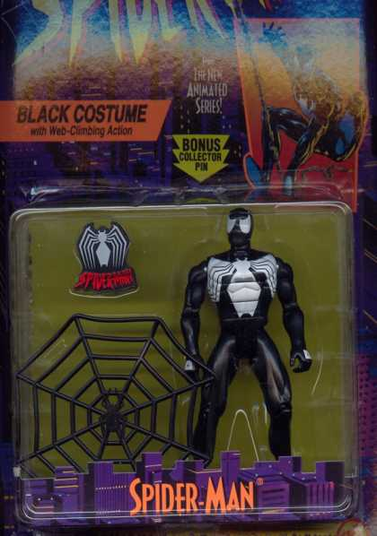 Action Figure Boxes - Spider-Man: Black Costume
