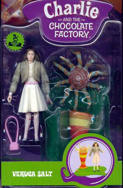 Action Figure Boxes - Charlie and the Chocolate Factory: Veruca Salt