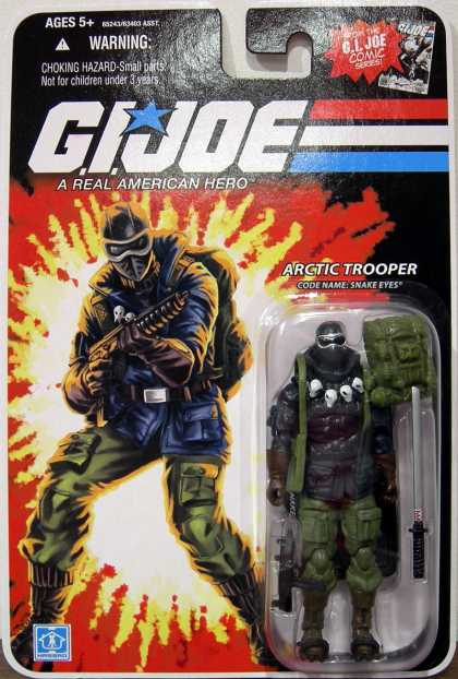 Action Figure Boxes - G.I. Joe Arctic Trooper