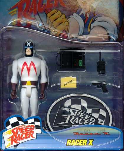 Action Figure Boxes - Speed Racer - Racer X