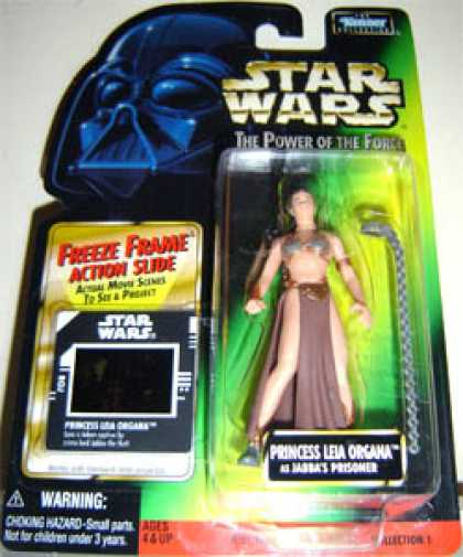 Action Figure Boxes - Star Wars - Princess Leia Organa