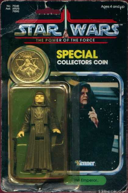Action Figure Boxes - Star Wars: The Emperor