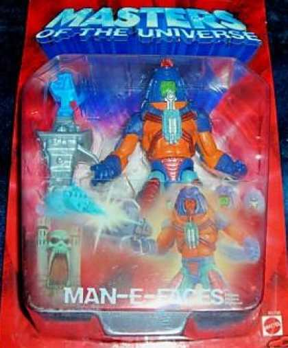 Action Figure Boxes - Masters of the Universe: Man-E-Faces
