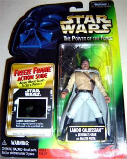 Action Figure Boxes - Star Wars: Lando Calrissian