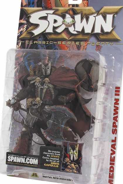 Action Figure Boxes - Medieval Spawn