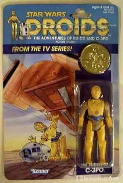 Action Figure Boxes - Star Wars Droids: C-3PO