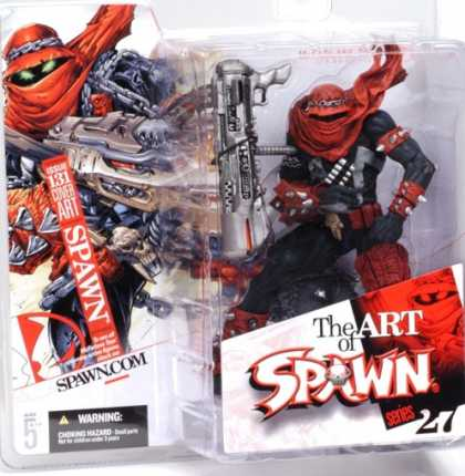 Action Figure Boxes - Art of Spawn