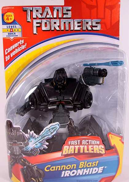 Action Figure Boxes - Transformers: Cannon Blast Ironhide