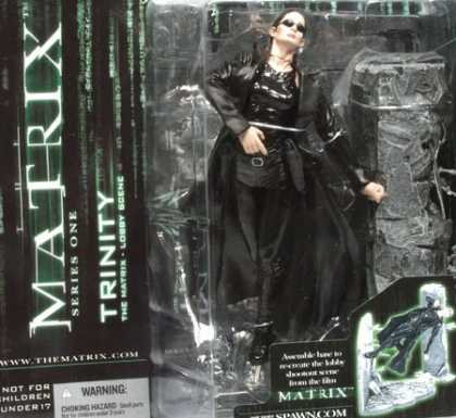 Action Figure Boxes - Matrix: Trinity