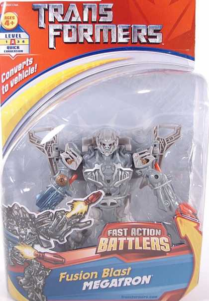 Action Figure Boxes - Transformers: Fusion Blast Megatron