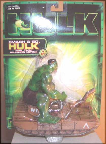 Action Figure Boxes - Hulk: Smash and Go